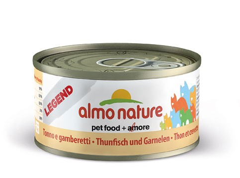Almo Nature Cat HFC Natural Thunfisch & Garnelen 70g