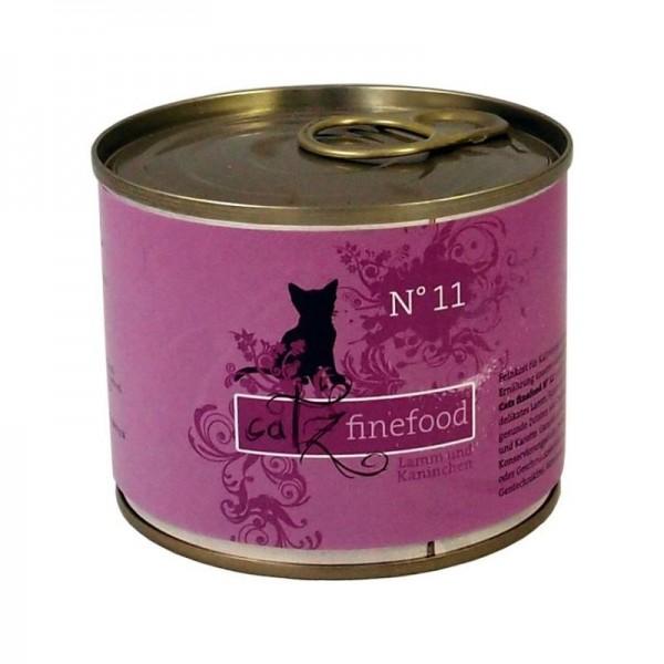 CatzFineFood No.11 Lamm & Kaninchen