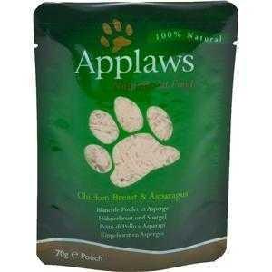 Applaws Cat Pouchbeutel Huhn & Spargel 12x70g
